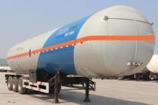 安瑞科12.7米2.6吨3轴易燃气体罐式运输半挂车(HGJ9380GRQ)