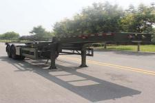 五岳9.6米30.5吨2轴集装箱运输半挂车(TAZ9354TJZE)