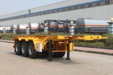 特运8.5米34.6吨3轴危险品罐箱骨架运输半挂车(DTA9400TWY)