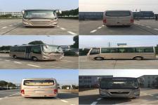 华新牌HM6605LFD5J型客车图片4