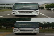 华新牌HM6605LFD5X型客车图片4