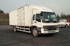 五十铃国五单桥厢式货车205马力5-10吨(QL5160XXYVRFR)