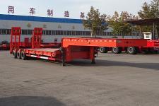 顺运12.5米28.2吨6轴低平板半挂车(HYY9407TDP)