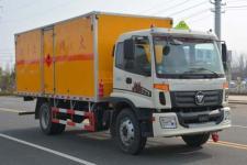 多士星牌JHW5161XRQB型易燃气体厢式运输车