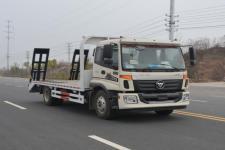 國五福田歐馬可單橋黃牌可拉15噸挖機的平板車