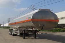 特运牌DTA9408GYYC型铝合金运油半挂车