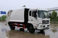 國五東風天錦壓縮式垃圾車13872879577