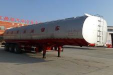 齐机12.1米29.8吨3轴液态食品运输半挂车(QLZ9400GYS)