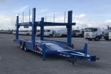 中集11.7米10.5吨2轴中置轴车辆运输挂车(ZJV9170TCLJM)