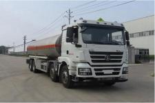20吨油罐车几多钱一辆 陕汽前四后八铝合金运油车