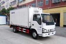 慶鈴五十鈴藍牌冷藏車四米一廂體廠家直銷