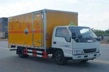 多士星国五单桥厢式货车116马力5吨以下(JHW5040XFWJX)