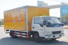 国五江铃易燃固体厢式运输车