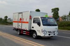 国五跃进易燃液体厢式运输车
