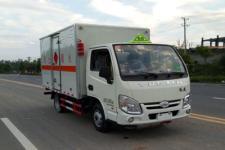 大力牌DLQ5030XRQSH型易燃气体厢式运输车
