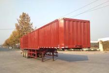 中基华烁13米31.7吨3轴厢式运输半挂车(XHS9401XXYE)