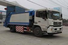 程力威牌CLW5180ZYSE5NG型压缩式垃圾车
