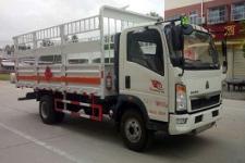 重汽豪沃国五5米2气瓶运输车