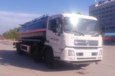 程力威牌CLW5259GFW5型腐蚀性物品罐式运输车