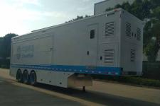 蓝速13米03轴展示半挂车(BYN9350XZS)