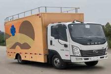 國五東風多利卡中大型餐車軍用餐車帶吧臺外接電源流動餐車的報價