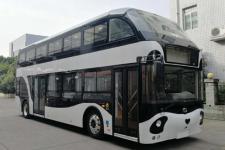 10.8米蜀都纯电动双层城市客车