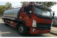 炎帝牌SZD5187GNY5Z型鲜奶运输车