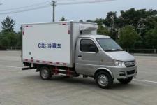 长安后双轮2米6冷藏车小型箱式运输车厂家直销价