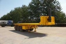 吉鲁恒驰8米34吨3轴平板自卸半挂车(PG9400ZZXP)