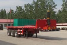 倪盛10.3米31.5吨3轴平板自卸半挂车(XSQ9402ZZXP)