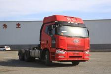 解放牌CA4250P66K24T1A1E5X型集装箱半挂牵引汽车图片