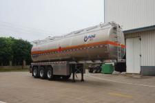 运力11米33.2吨3轴铝合金运油半挂车(LG9409GYY)
