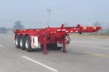 华骏8.5米35吨3轴危险品罐箱骨架运输半挂车(ZCZ9405TWYHJE)