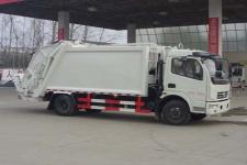 东风多利卡6-8方后装压缩垃圾车价格