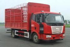 一汽柳特國五單橋倉柵式運輸車182馬力5-10噸(LZT5160CCYPK2E5L3A95)