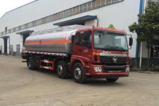 福田歐曼小三軸15噸原油運輸車價格