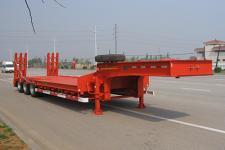 中集12.9米29.6吨3轴低平板运输半挂车(ZJV9400TDPYK)