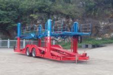 柳特神力11.3米9.4吨2轴中置轴车辆运输挂车(LZT9180TCLA91)