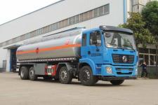 国五东风前四后六18吨加油车拉运柴油18727972525