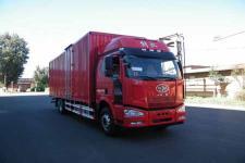一汽解放国五前四后四厢式运输车284马力10-15吨(CA5250XXYP63K1L6T2E5)