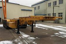 黄海9.9米35吨3轴危险品罐箱骨架运输半挂车(DD9403TWY)