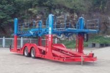 柳特神力11.1米10.7吨2轴中置轴车辆运输挂车(LZT9171TCLA91)