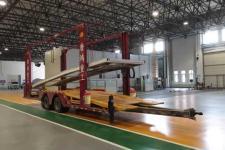 唐鸿重工12米9吨2轴中置轴车辆运输挂车(XT9160TCL)