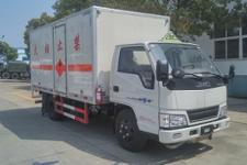 国五江铃易燃气体厢式运输车
