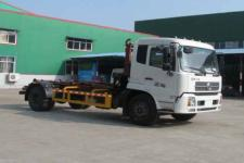 国五东风天锦勾臂式垃圾车  13872879577