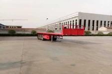 驹王10.5米35.3吨3轴平板半挂车(ZJW9401TPB)
