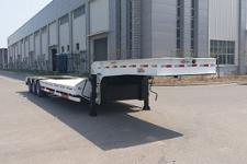 天明12.5米27.2吨6轴低平板半挂车(TM9401TDPA)