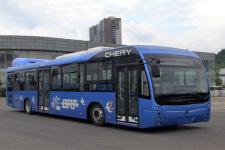 万达牌WD6125EHEV2型混合动力城市客车图片