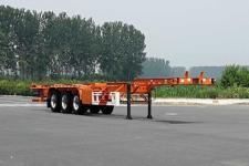 广大鸿远14米35.7吨3轴集装箱运输半挂车(GHY9403TJZ)