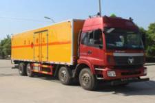 国五欧曼前四后八易燃气体厢式运输车13607286060